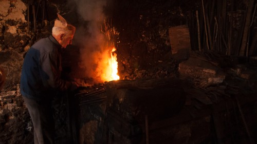 5. The mountain Hephaistos working his forge, Jack Dancy